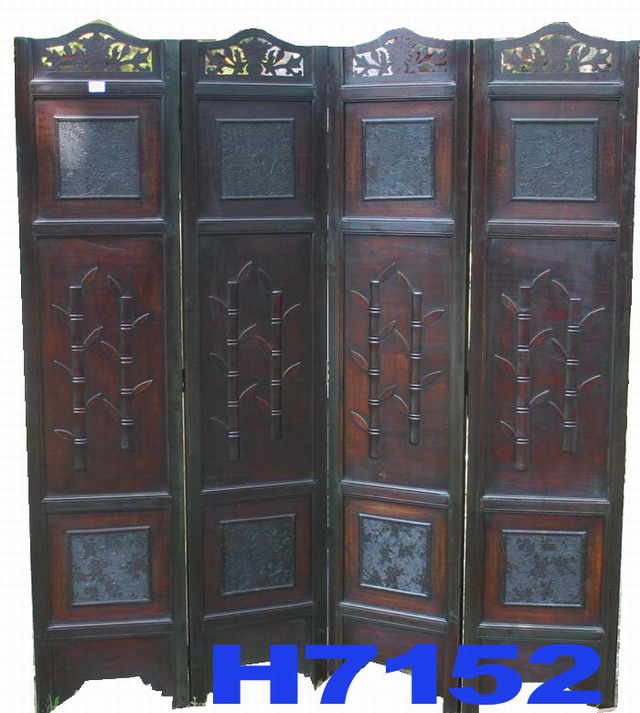 Wooden screen h china manufacturer guangze county